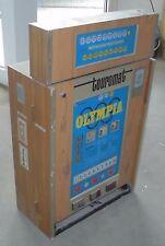 DM geld spielautomat geldspieler TOUROMAT OLYMPIA automat 70er technik top deko