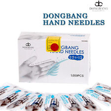 Tracking Dong Bang Disposable Acupuncture Hand Medical Needles 0.18x8mm 1000pcs