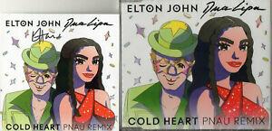 Elton John Autograph - Cold Heart CD & Signed Insert - New - AFTAL - 1