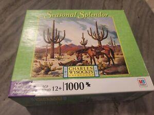 Wysocki Love Letter From Cheyenne Seasonal Splendor 1000 Piece New Puzzle Hasbro