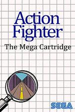 Framed Print - Action Fighter SEGA Master System (Man Cave Picture Poster Game)