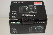 Fujifilm Finepix S4830 16MP Digital Camera Wd 24mm 30X FUJINON Optical Zoom Lens