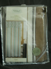 "Whole Home Fabric Shower Curtain ""Chain""  New in Package"