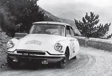 carte postale - - CITROËN DS 19 - Coupe des Alpes 1962