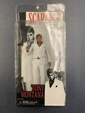 NECA / Reel Toys Scarface Tony Montana 7? White Suit Action Figure, RARE, MIB