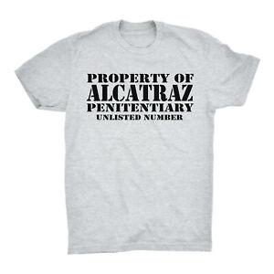 Property Of Alcatraz T Shirt Worn By Blondie Deborah Debbie Prison Jail