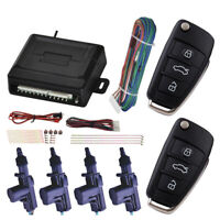 Universal Car Remote Central Door Lock Kit Vehicle Keyless Entry System Control