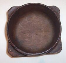 Eighteenth century wood hand turned bowl.