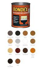 Bondex 2,5 Liter Holzlasur für Aussen Holzschutzlasur Farbwahl