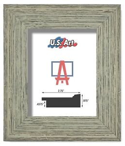"""US Art Frames 2.75"""" Worn Distressed Country Tumbleweed Polystyrene Picture S-B"""