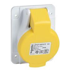 10 X SCHNEIDER ELECTRIC PKF201 110V 16A GENERATOR SOCKETS