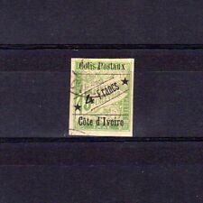 COTE D'IVOIRE Colis Postaux n° 9 oblitéré