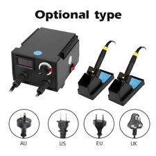 100w Wood Burner Digital Display Dual Pen Multifunction Craft Pyrography Machine