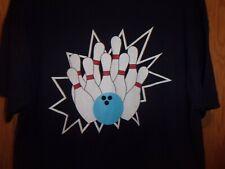 Mifflinburg Bowling L t shirt Bowling Pins strike