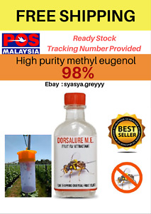 Fruit Fly Methyl Eugenol Pheromone Lure Pest Control 1.01oz 30ml proven results