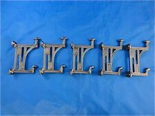 5 BEAUTIFUL ARTS AND CRAFTS STYLE CAST IRON MACKINTOSH COAT HOOK HANGER DOOR