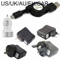 Retractable micro usb charger for Samsung Galaxy Teos Focus/I917 I9268 car