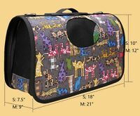 PVC Hard Shell Dog Cat Pet Outdoor Comfort Travel Bag Carrier