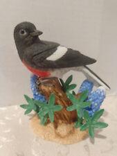 Lenox Garden Bird Porcelain FigurineDARK EYED JUNCO Excellent Condition