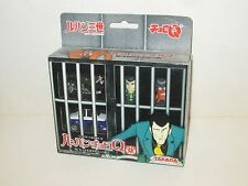 JAPANESE ANIME TAKARA LUPIN THE THIRD CHORO Q 2003 FIGURES IN BOX JAPAN
