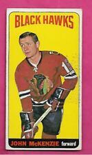 1964-65 TOPPS TALL # 30 HAWKS JOHN MCKENZIE EX+  CARD (INV# J0067)