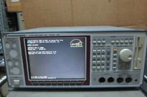 Rohde & Schwarz UPL Audio Analyzer (For Parts)