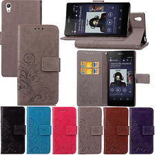 New Flip Stand Card Wallet Leather Case Cover for Sony Xperia X XA X Performance