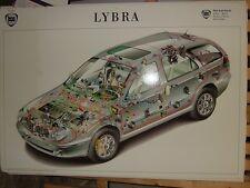 Tafel bzw. Kabelplan Lageplan für Lancia Lybra Sammlerstück u. Reparaturhilfe