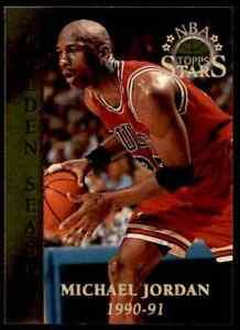 1996-97 Topps Stars Golden Season Michael Jordan Bulls #74