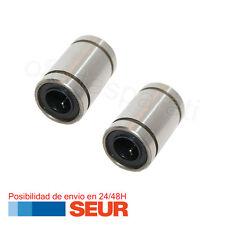 Kit Pack 2 Cojinete Rodamiento Lineal Bolas 8mm LM8UU para Impresora 3D