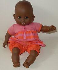 Adorable bébé poupon COROLLE corps mou noir 2013 30 cm
