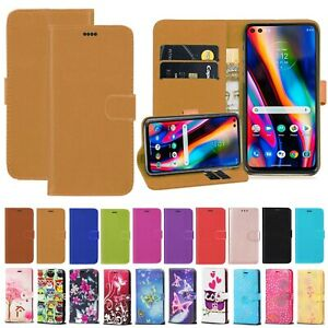 For Motorola Moto G10 Moto G30 G50 Magnetic Wallet Stand Phone Case Cover