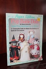Paper Ribbon Pop Bottle Dolls by Marion Brizendine Book