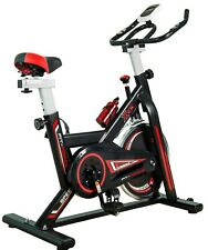 Bici spinning Fit-Force XGT709 con volante de inercia de 24kg Negro