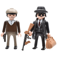 Playmobil HUT dunkelblau Kappe Mütze City Figuren Zubehör Gangster Golfmütze