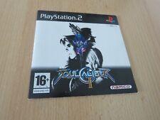 Playstation 2 PS2  Demo  Soulcalibur II