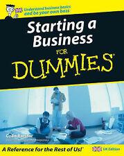 Starting a Business For Dummies, Colin Barrow Paperback Book