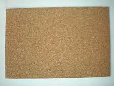 10 Platten Bodenbelag für Puppenstube,Natur Kork 30 x 20cm - 2mm