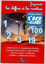 NEW BOOK J'APPRENDS THE FIGURES AND NUMBERS WITH AGE OF ICE THE 5 ANS