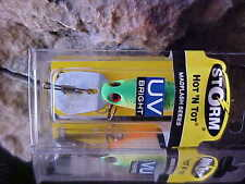 """Storm HOT-N- TOT 2"""" Madflash UV BRIGHT Color#HM651 for Walleye/Bass/Salmon"""