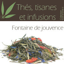 Thé vert Fontaine de jouvence baies de Goji, grenade - 100g Thé infusion tisane