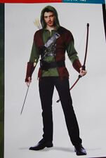 Robin Hood Medievil Outlaw Men's Costume Large (36-38) NWT