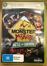 Monster Madness: Battle for Suburbia (Microsoft Xbox 360, 2007)