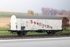 """KM1 203224 Kühlwagen """"Seefische"""" DB Typ A NEM Spur 1 NEU & OVP"""