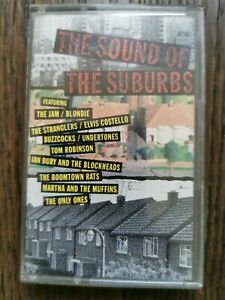 THE SOUND OF THE SUBURBS - Various Punk The Jam etc / Cassette Album Tape