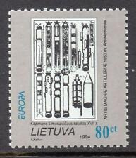 LITHUANIA MNH 1994 Europa, Inventions