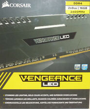 CORSAIR Vengeance 2-Pack 8GB PC4-19200 DDR4 DIMM Unbuffered Non-ECC Desktop NEW