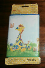 "Sunworthy LITTLE SUZYS ZOO Wallpaper Border Pre-Pasted-New 6.75"" x 5 yards"