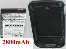 Carcasa + Batería 2800mAh tipo BA S390 RHOD100 RHOD160 para HTC S511
