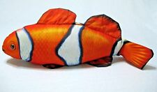 Realistic Clown Fish Plush Pillow